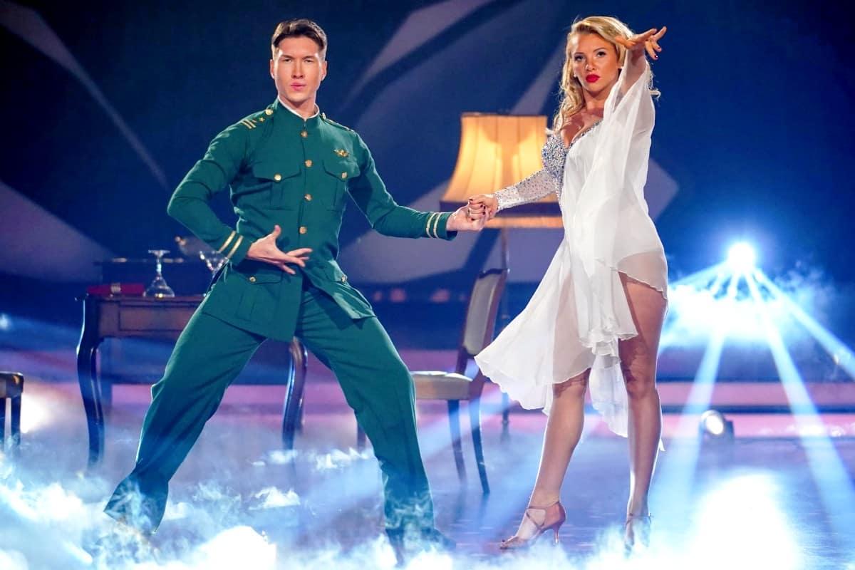 Evgeny Vinokurov - Evelyn Burdecki bei Let's dance am 17.5.2019