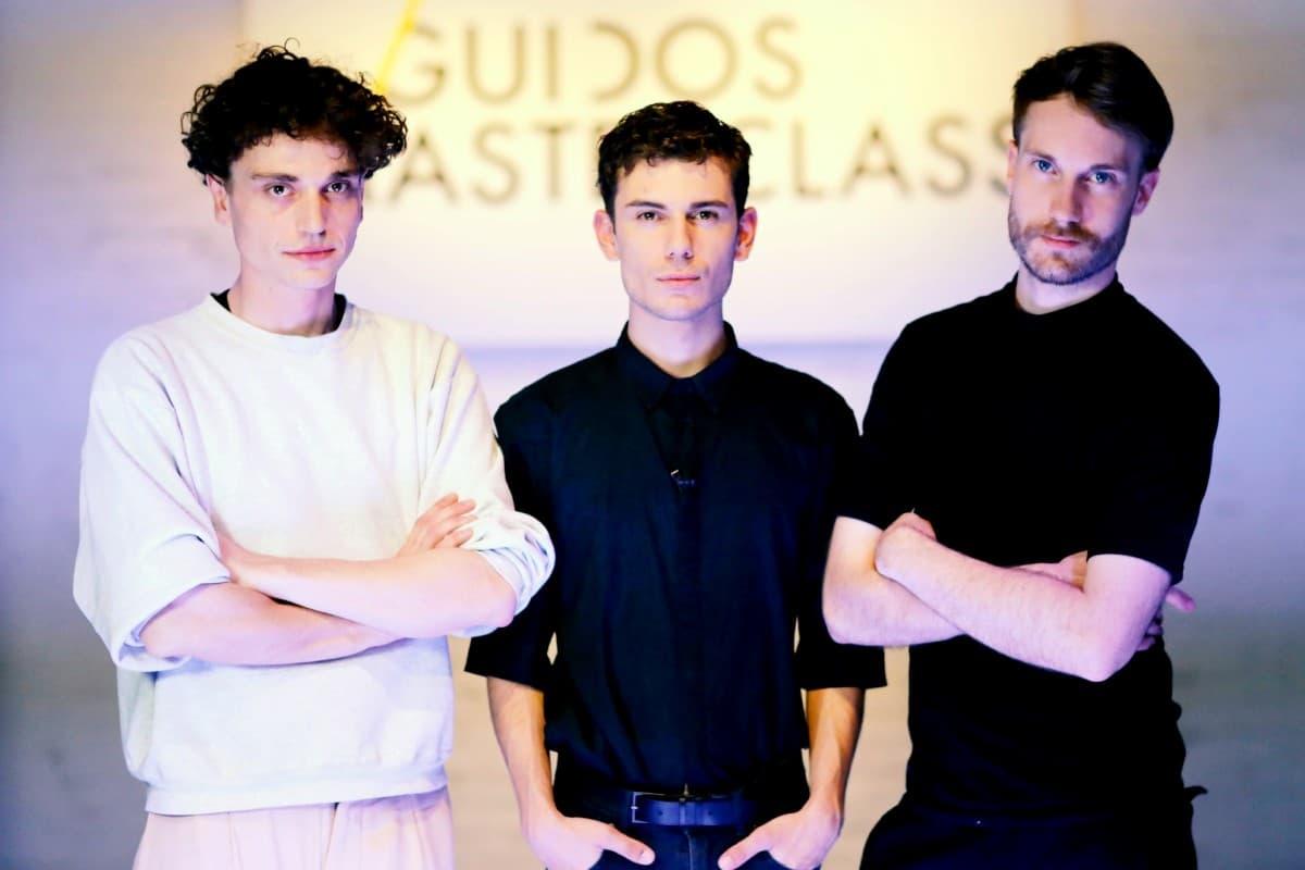 Guidos Masterclass Finale am 3.6.2019 - im Bild Laurent Hermann Progin, Denis Goec und Robin Rau