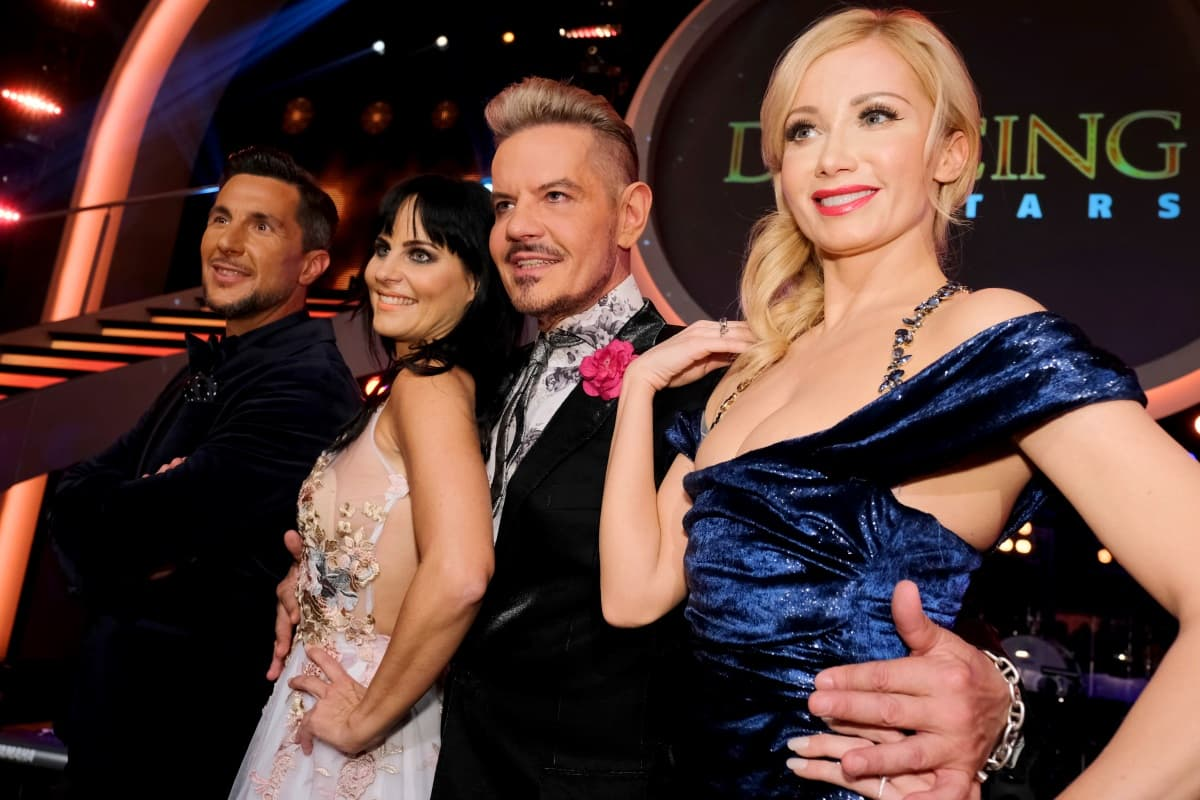 Jury Dancing Stars 2019 - im Bild Balázs Ekker, Nicole Hansen, Dirk Heidemann, Karina Sarkissova