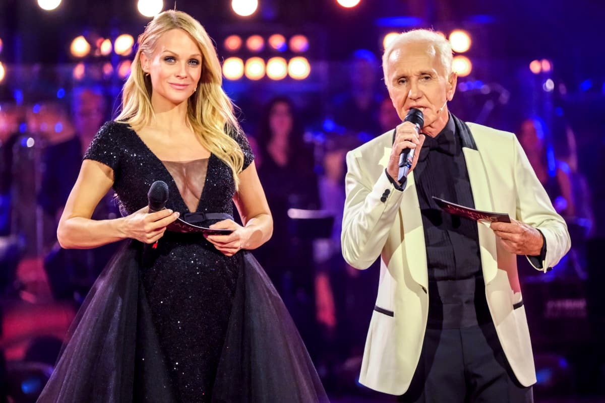 Mirjam Weichselbraun und Klaus Eberhartinger im Finale der Dancing Stars 2019