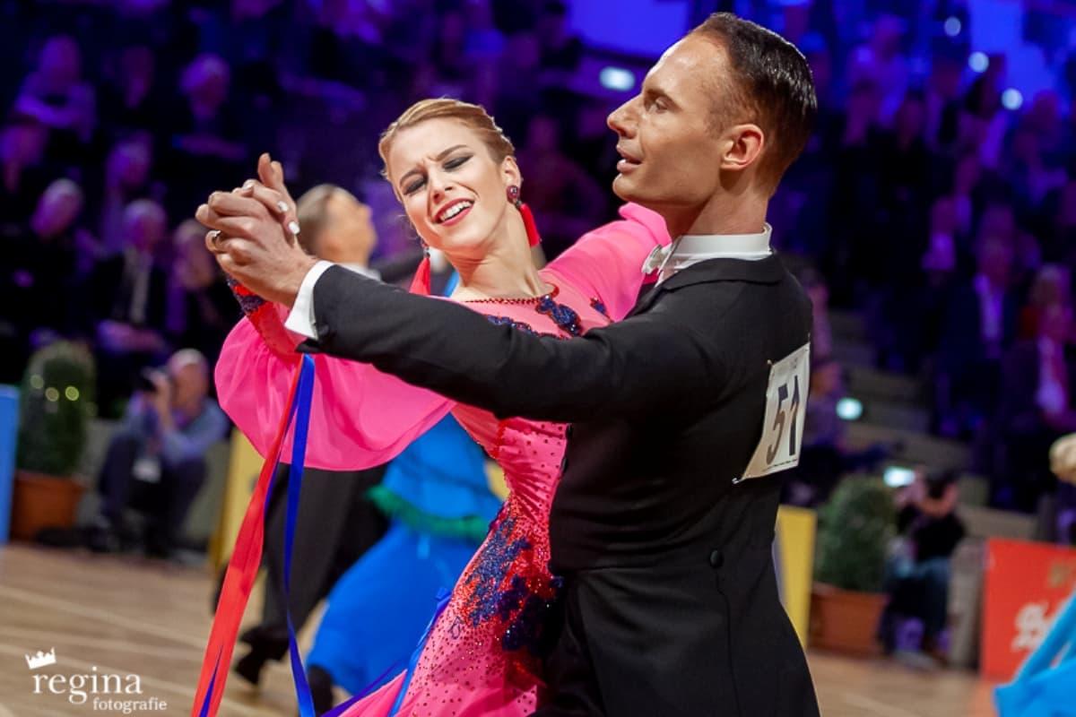 Tanzsport Europameisterschaften 2019 Ergebnisse - hier im Bild Vaclav Malek - Catharina Malek aus Österreich