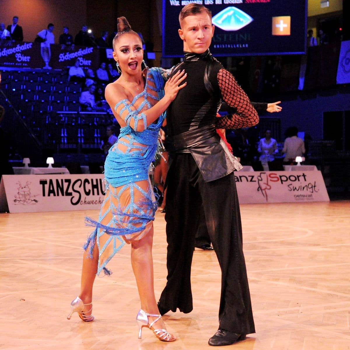 Tim Grabenwöger – Natalie Cremar 2019 erfolgreiches Tanzpaar bei den ÖStM im Tanzsport