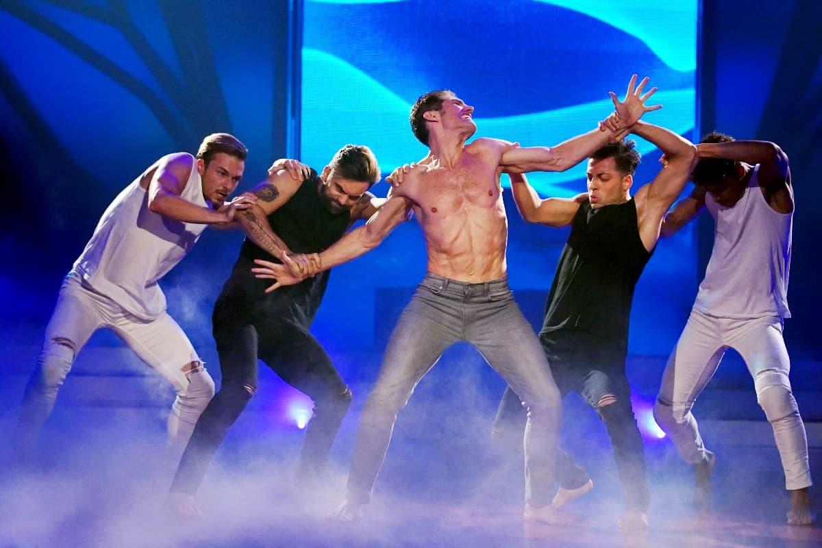 Christian Polanc bei Let's dance am 27.6.2019