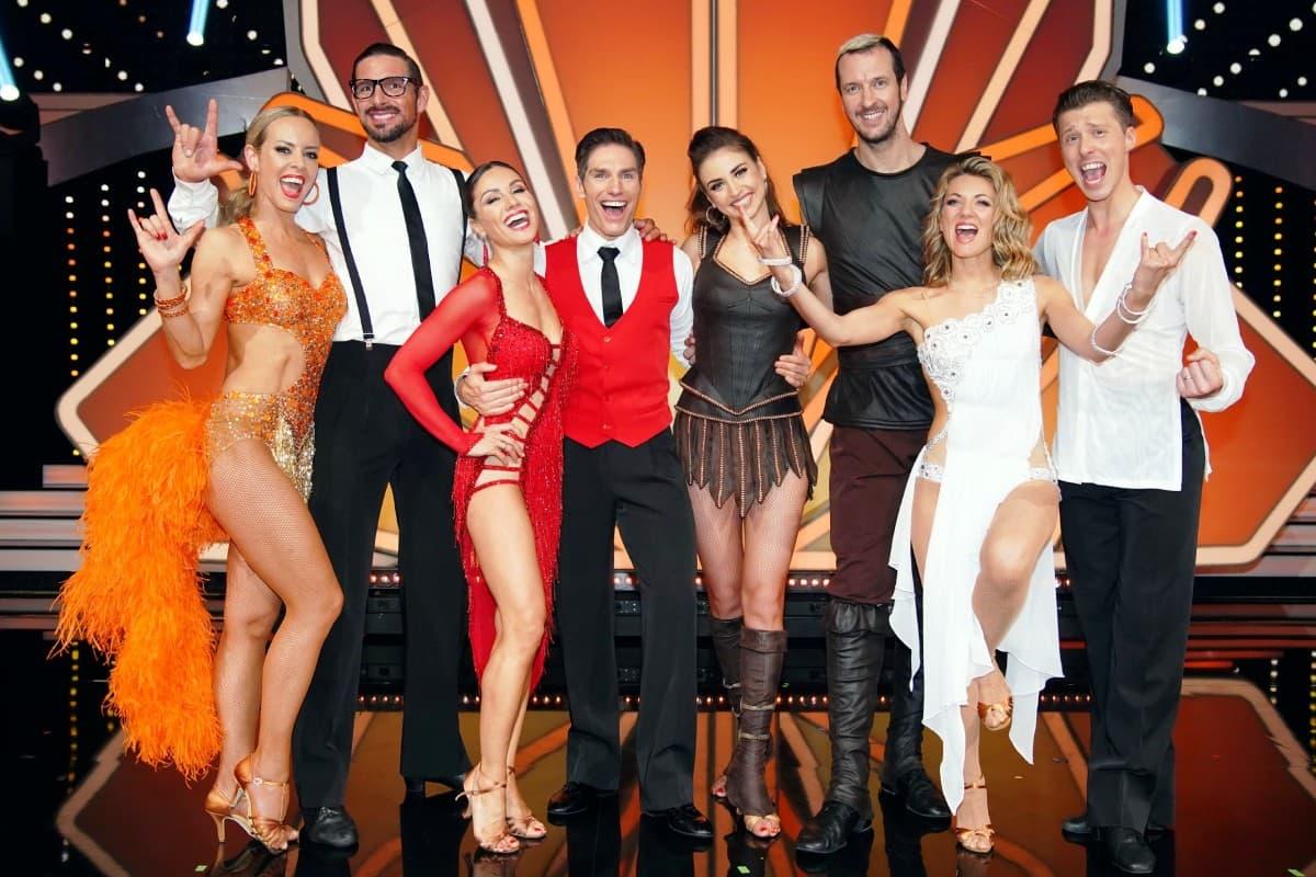 Die 4 Tanzpaare im Halbfinale von Let's dance 2019