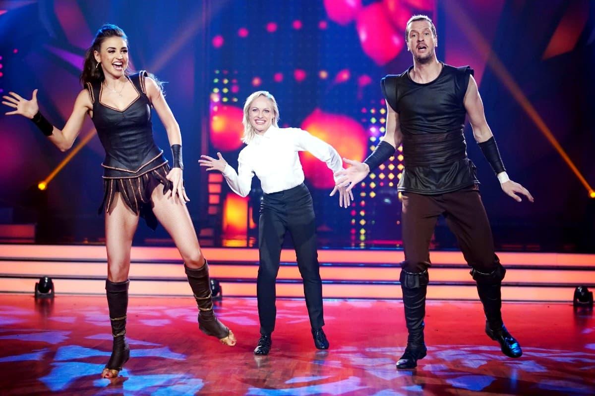 Ekaterina Leonova, Marta Arndt und Pascal Hens bei Let's dance am 31.5.2019