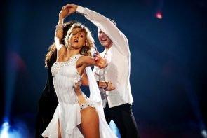Let's dance 2019 am 31.5.2019 Kritik: Meinung zu einer tollen Show - hier im Bild Ella Endlich und Valentin Lusin
