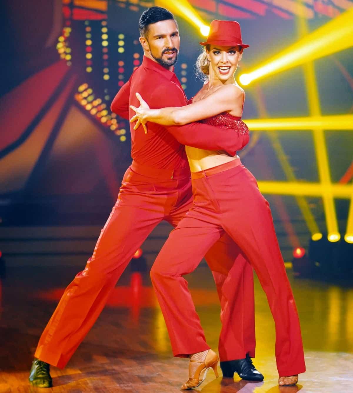 Platz 3 Let's dance 2019 Benjamin Piwko - Isabel Edvardsson