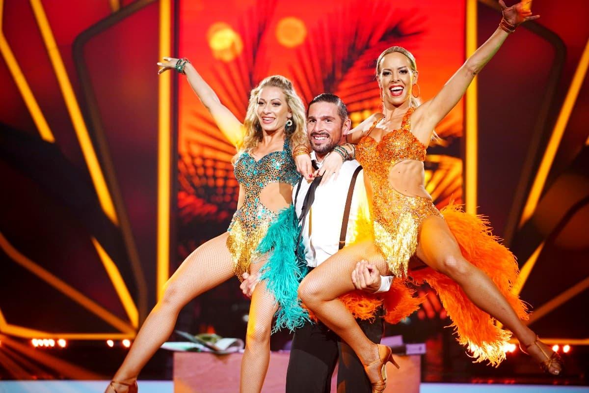 Regina Luca, Benjamin Piwko und Isabel Edvardsson bei Let's dance am 31.5.2019