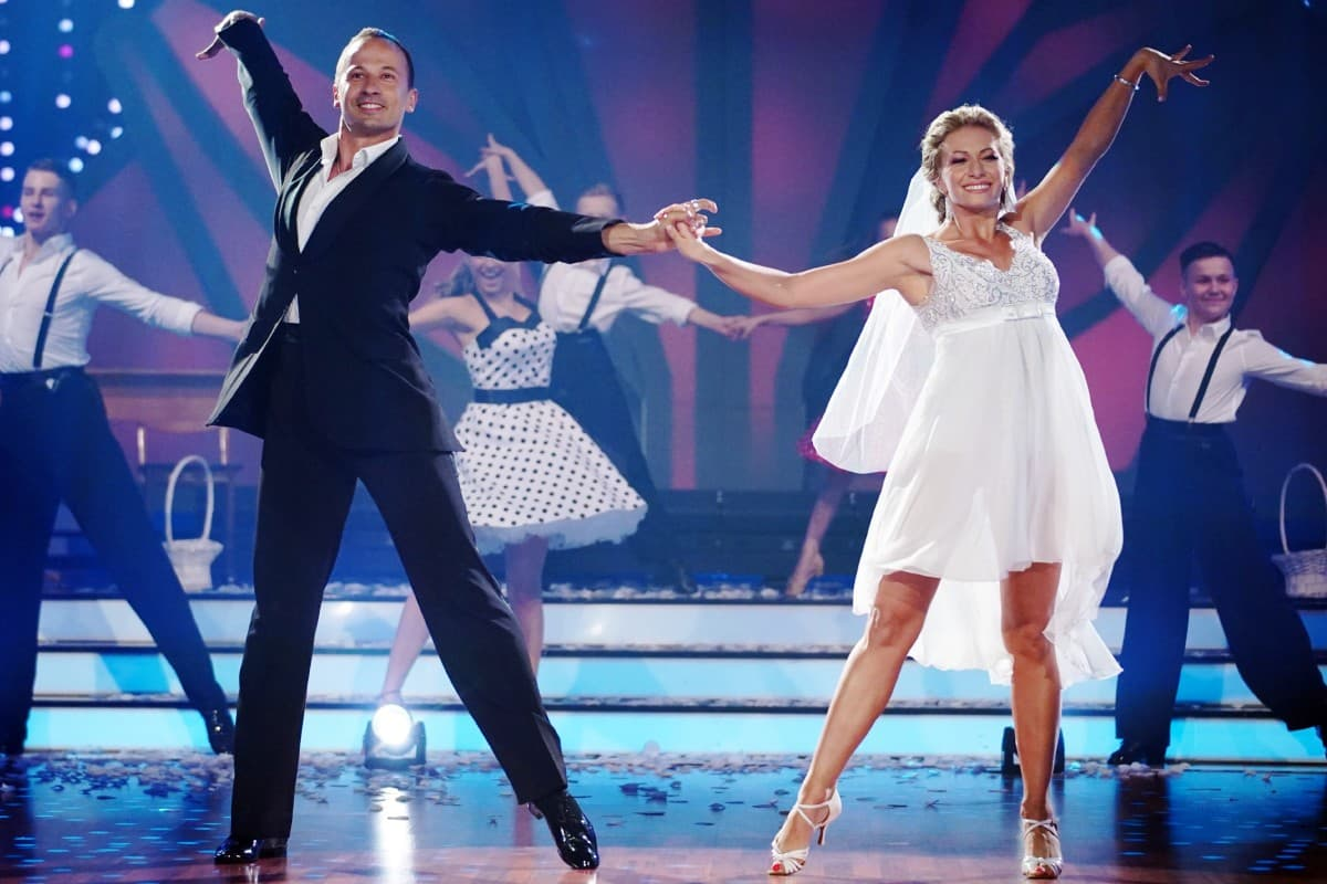 Sergiu Luca und Regina Luca bei Let's dance am 27.6.2019