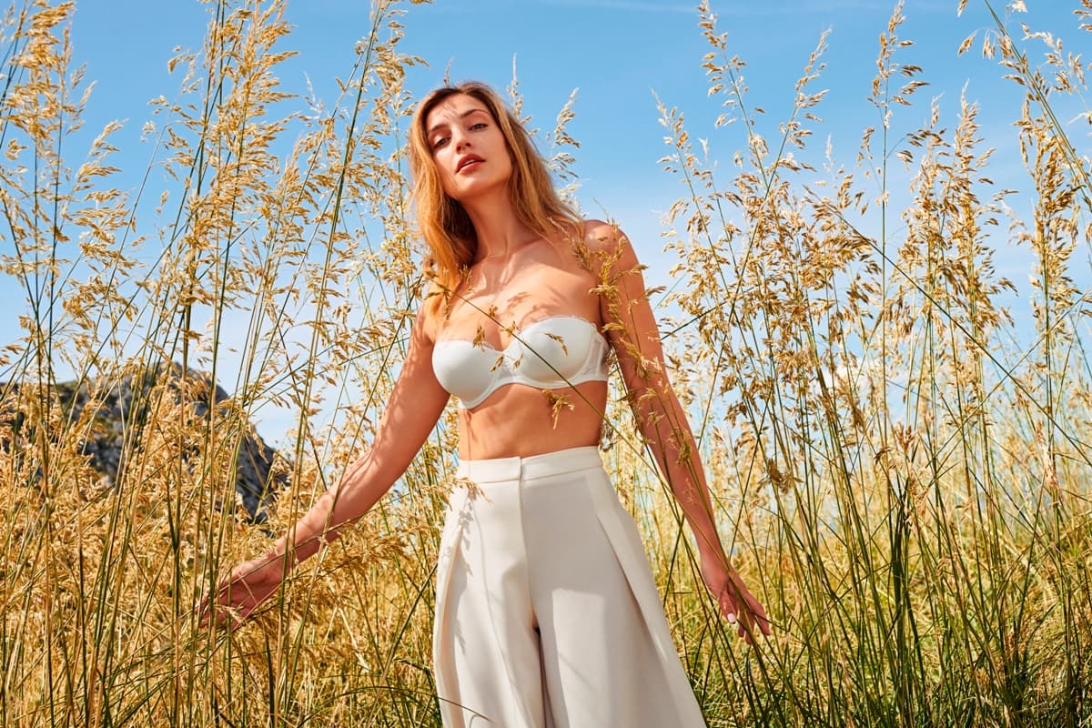 Trägerloser BH Marie Jo Bridal Collection Sommer 2019, Modell Ray, Fabe Natural