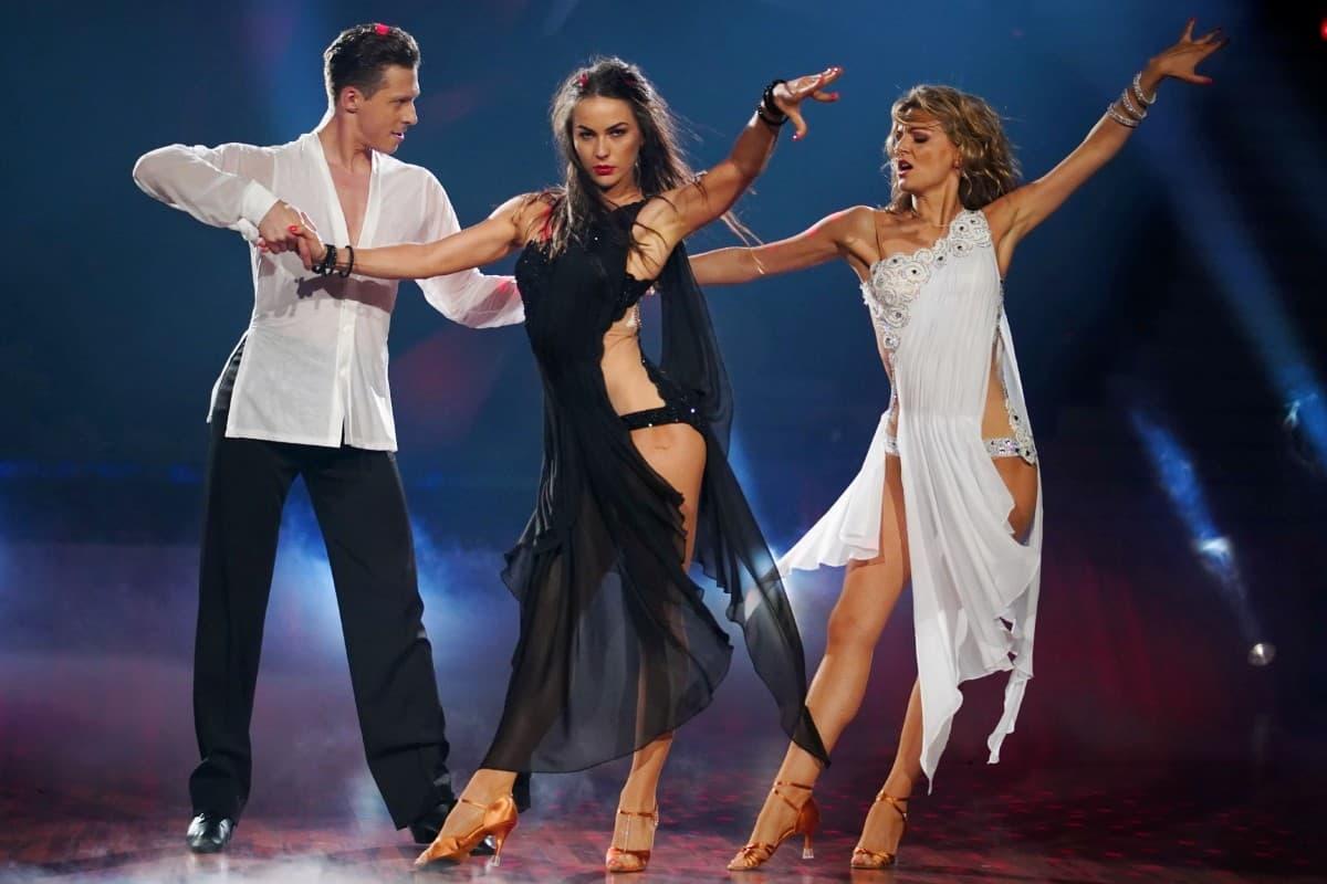 Valentin Lusin, Renata Lusin und Ella Endlich bei Let's dance am 31.5.2019