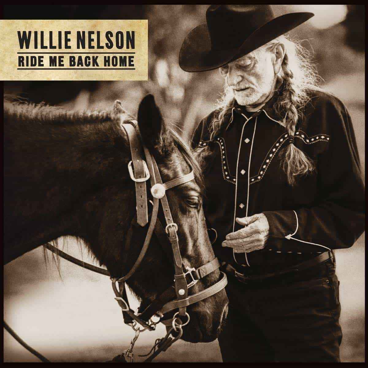 Willie Nelson - Country-CD Ride Me Back Home veröffentlicht