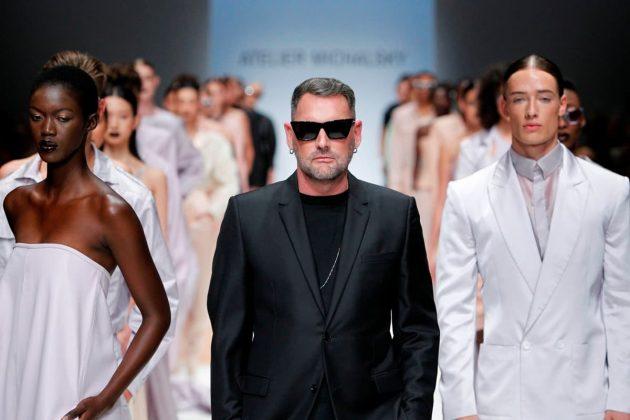Atelier Michalsky Mode Frühjahr-Sommer 2020 zur Fashion Week Berlin Juli 2019
