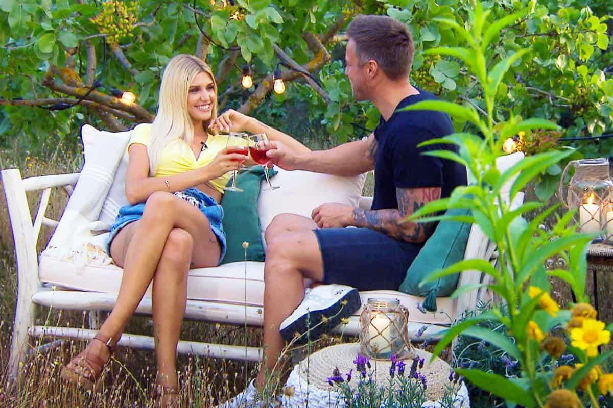 Bachelorette am 24.7.2019 - Gerda und Daniel