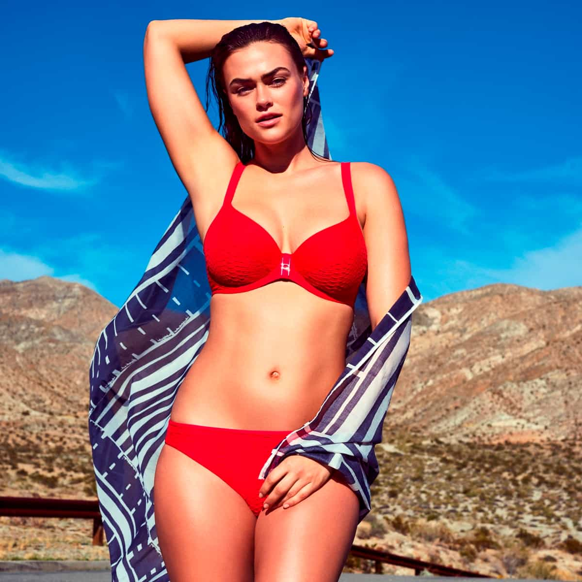 Bikini PrimaDonna Swim 2019 Model Canyon, Farbe True Red
