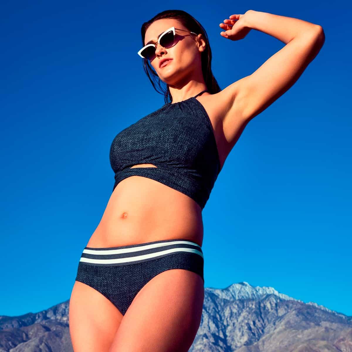 Bikini Sommer 2019 PrimaDonna Swim Model California, Farbe Blue Legend