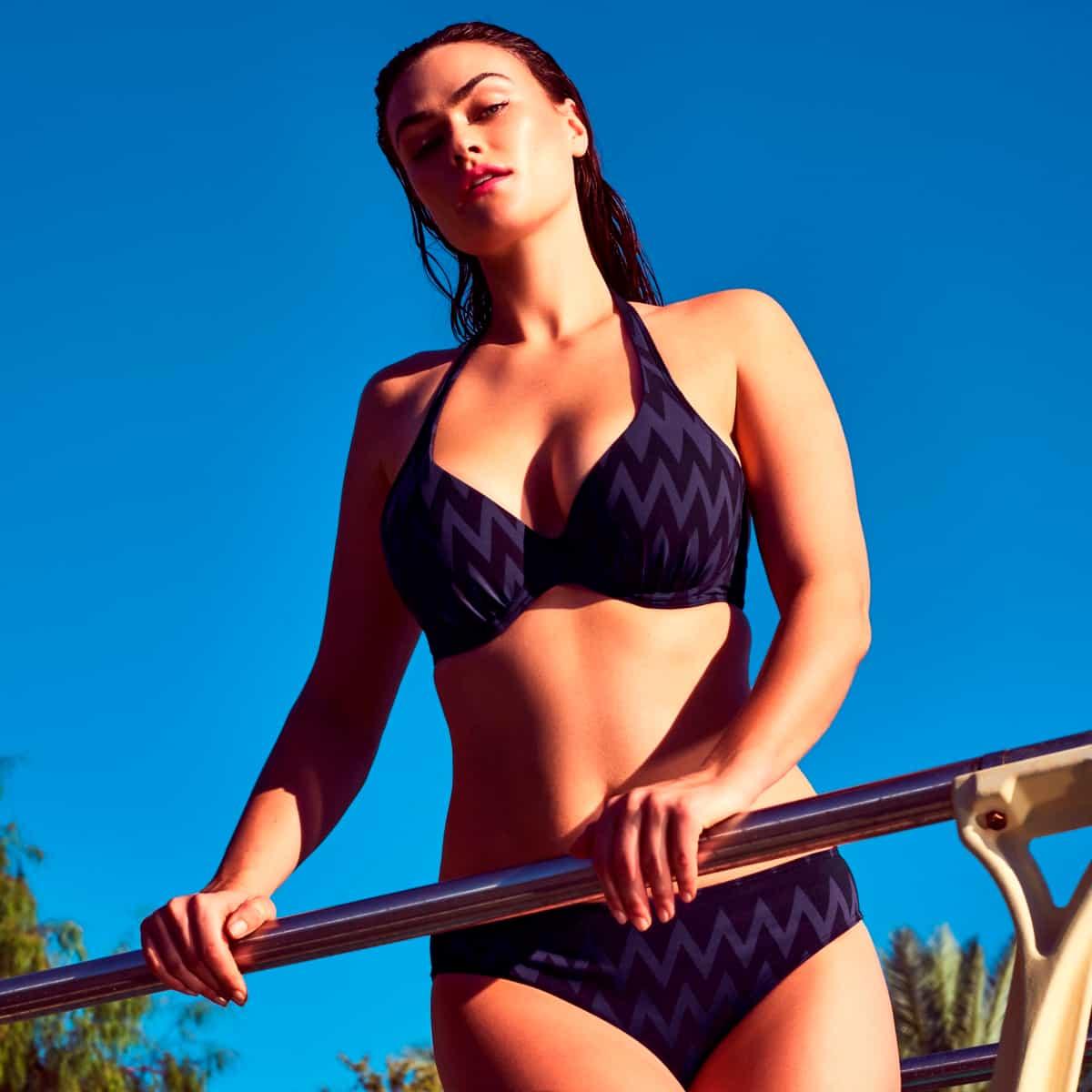 Bikini Sommer 2019 PrimaDonna Swim Model Vegas, Farbe Schwarz