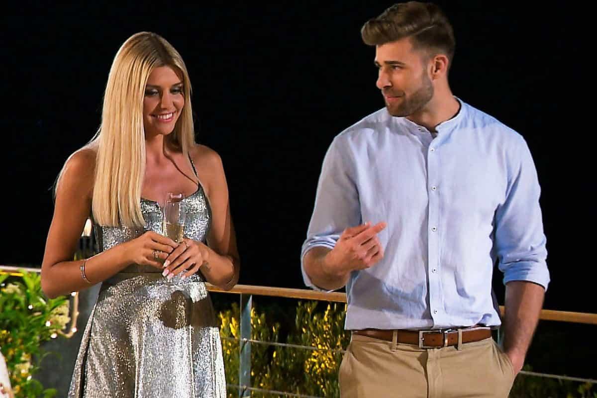 Gerda und Marco im Gespräch bei der Bachelorette am 17.7.2019