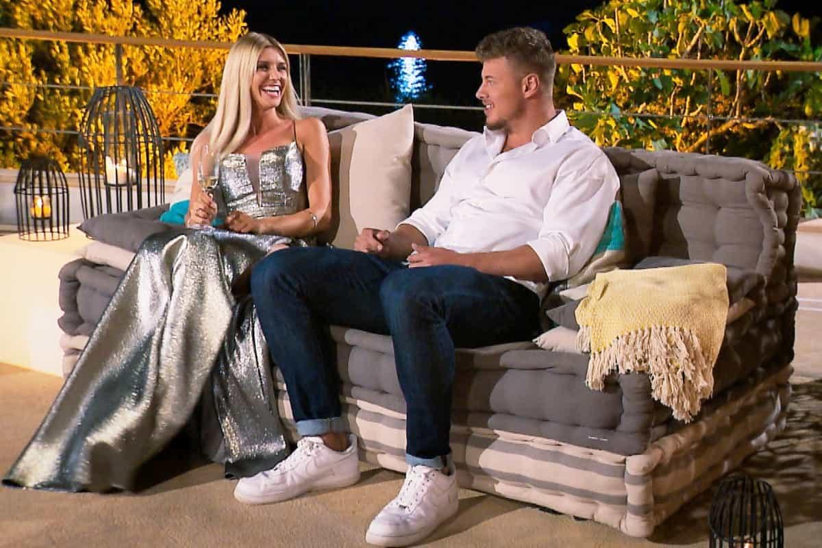 Gerda und Yannic im Gespräch bei der Bachelorette am 17.7.2019