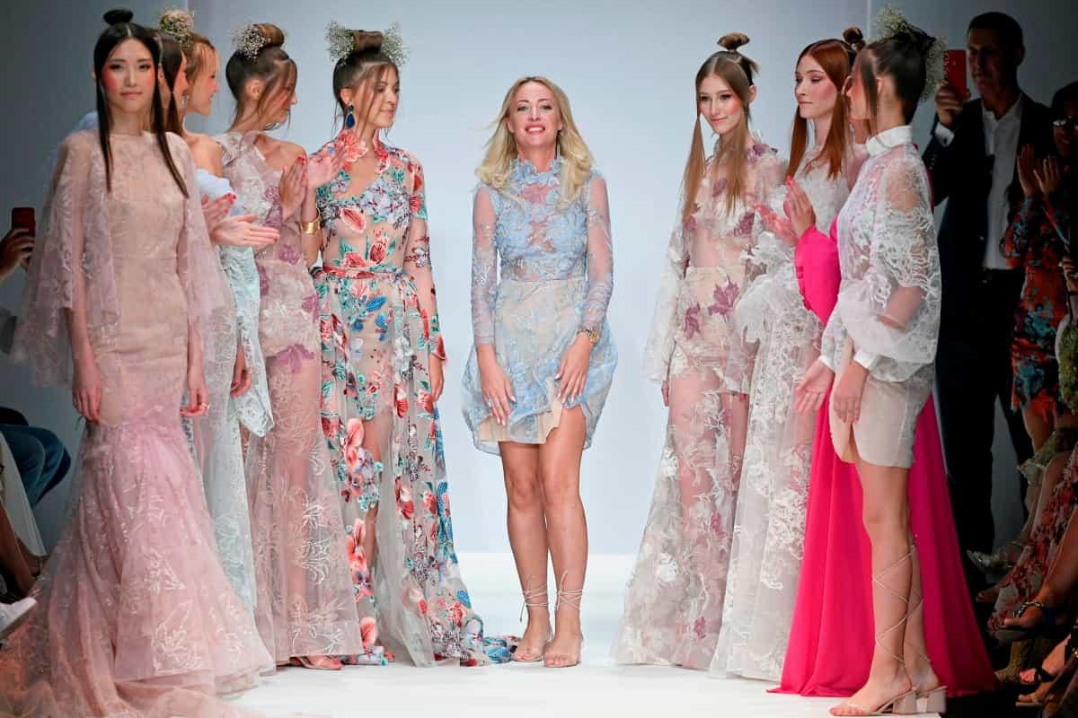 Lana Mueller Frühjahr-Sommermode 2020 auf der MBFW Fashion Week Berlin Juli 2019