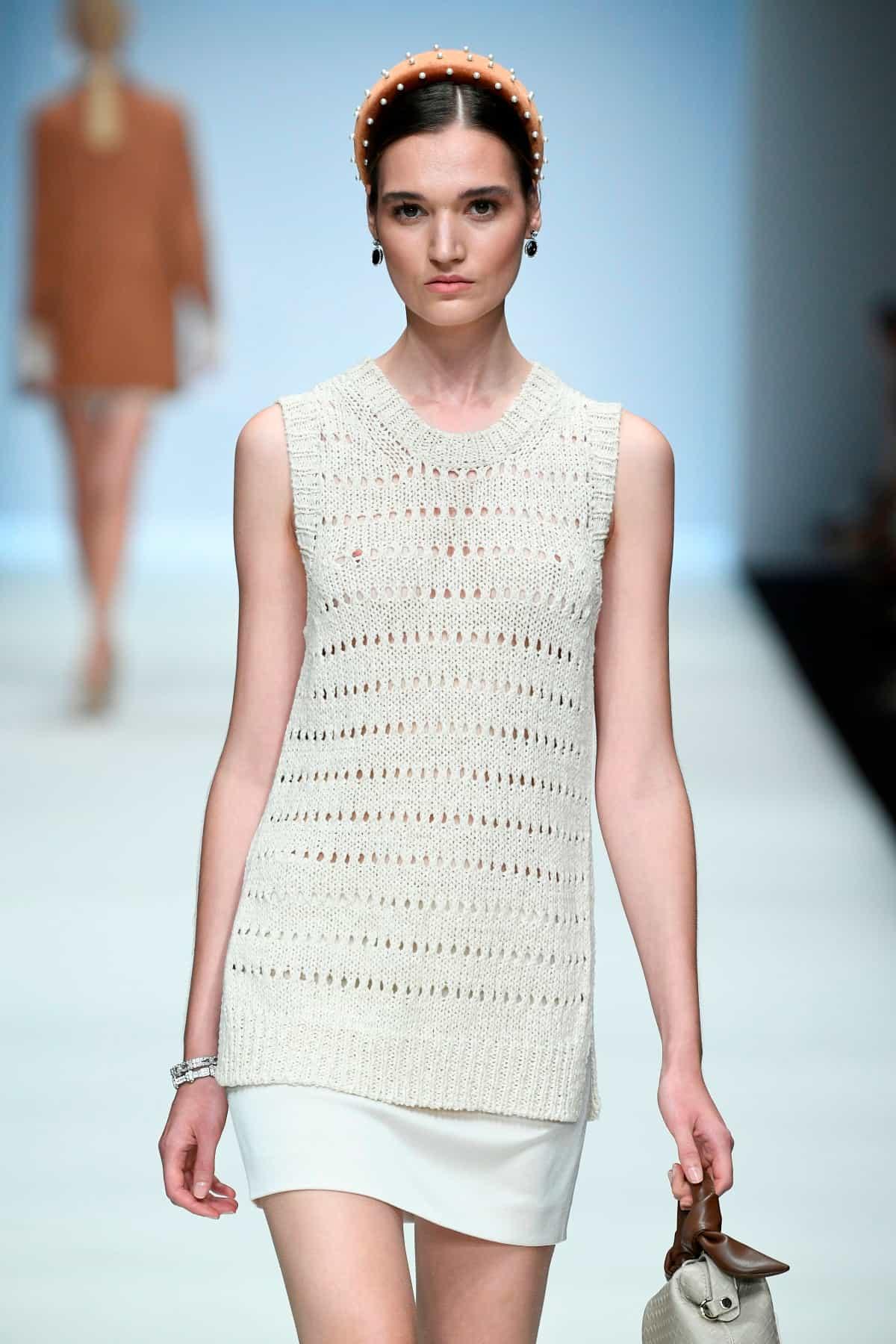 Riani Frühjahr-Sommer-Mode 2020 auf der Mercedes-Benz Fashion Week Berlin im Juli 2019 - 3