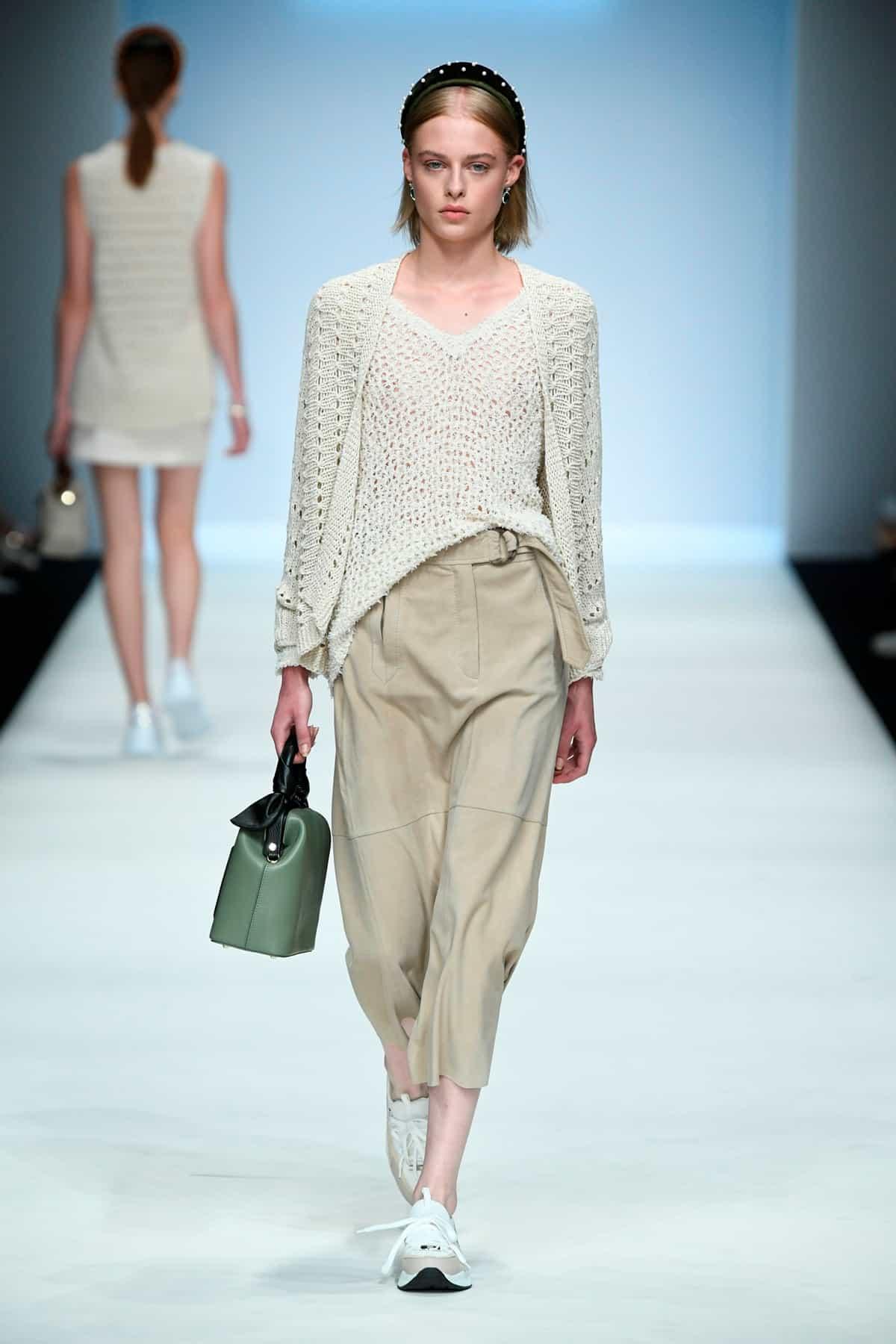 Riani Frühjahr-Sommer-Mode 2020 auf der Mercedes-Benz Fashion Week Berlin im Juli 2019 - 4