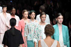 Riani Mode Frühjahr-Sommer 2020 auf der MBFW Berlin Juli 2019