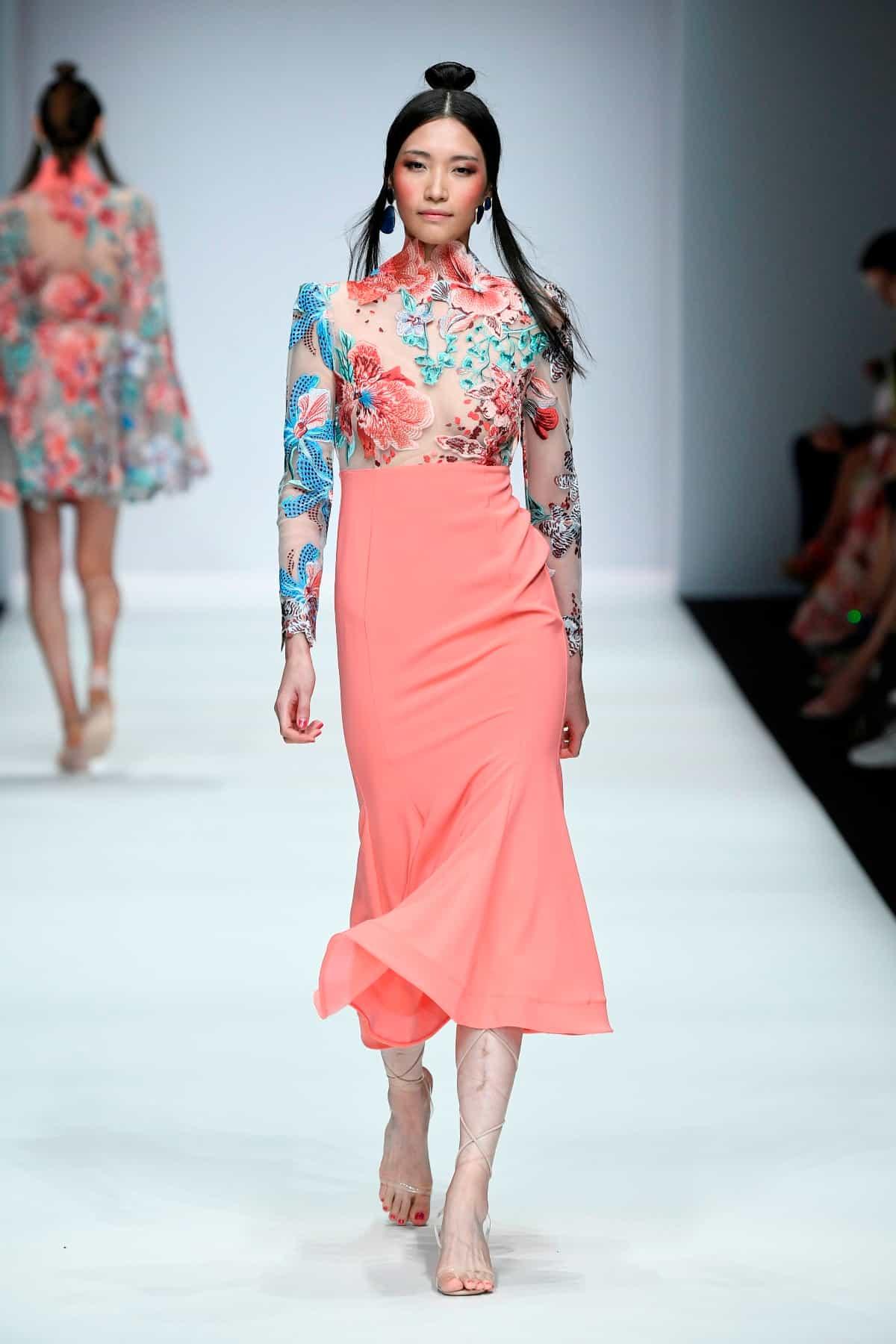 Sommerkleider 2020 von Lana Mueller zur MBFW auf der Fashion Week Berlin Juli 2019 - 2