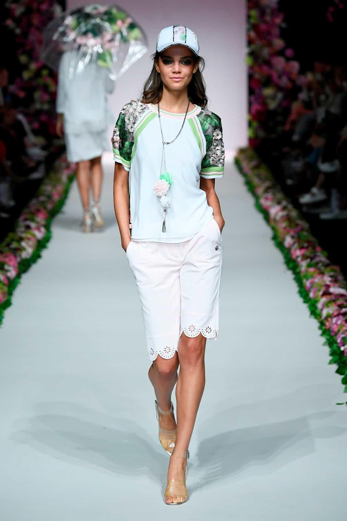 Weiß in der Mode Sommer 2020 von Sportalm zur MBFW Berlin Juli 2019 - 1