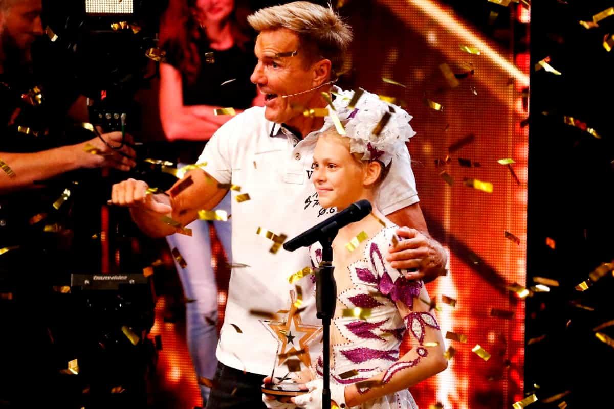 Ameli Bilyk als Gold-Buzzer-Kandidatin aus dem letzten Jahr schon für das Finale Supertalent 2019 qualifiziert