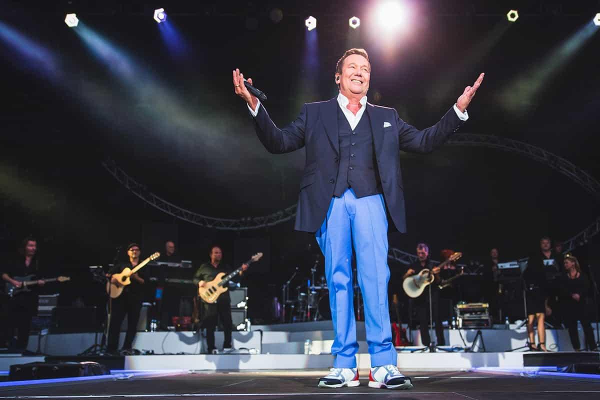 Roland Kaiser Kaisermania 2019, Konzert am 3.8.2019 in Dresden im MDR