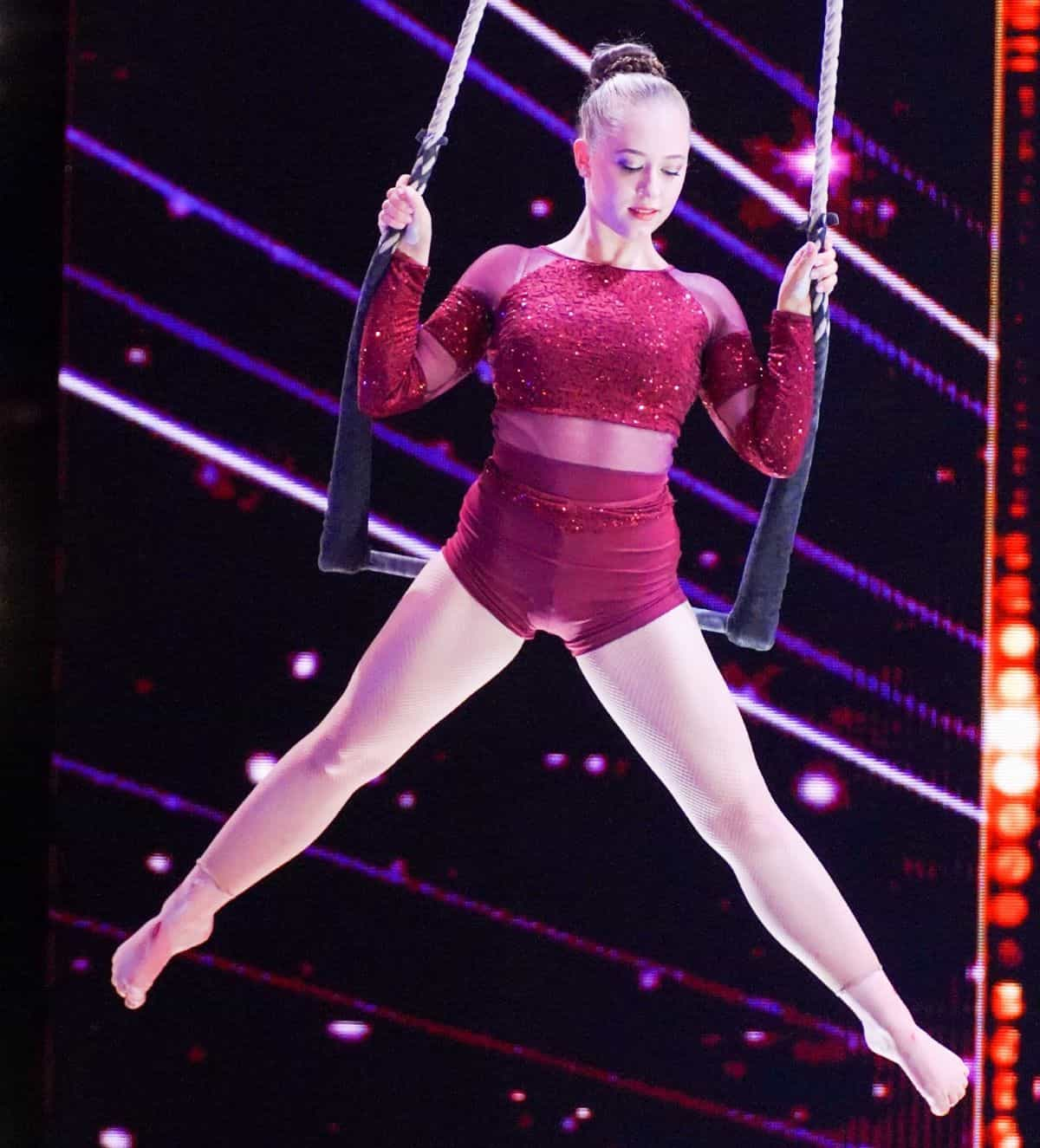 Andrea Matousek beim Supertalent am 28.9.2019