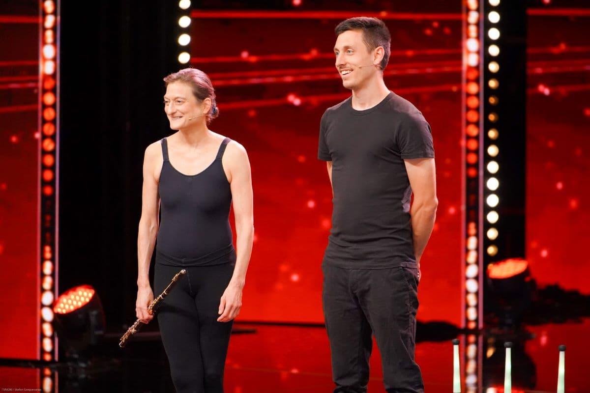 Annette Peters und Chris Blessing beim Supertalent am 21.9.2019