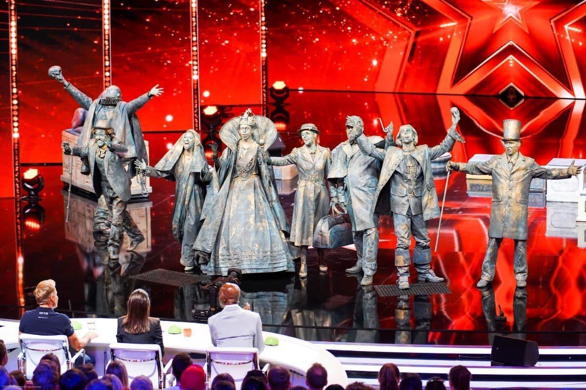 Chor Big Names beim Supertalent am 21.9.2019