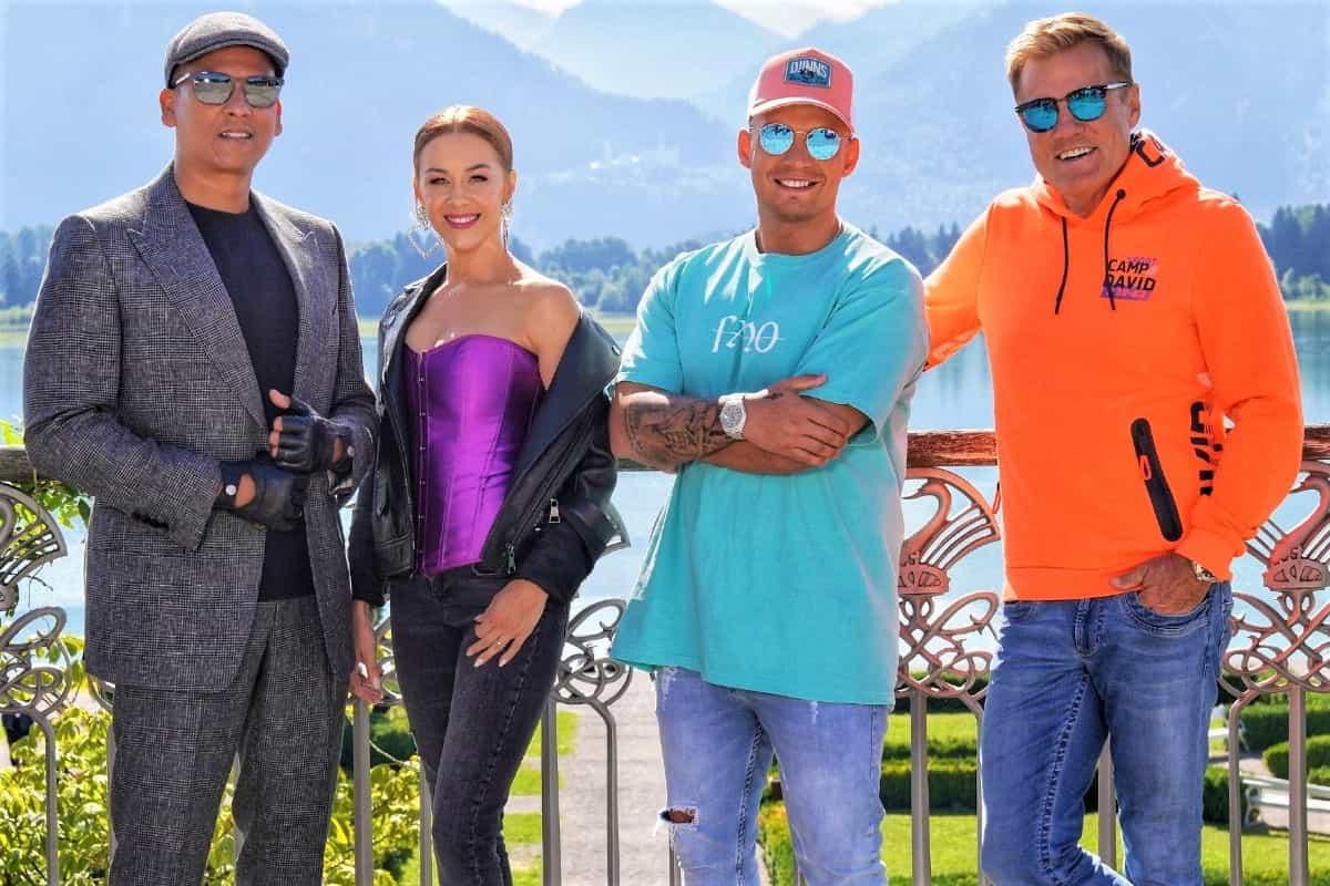 DSDS 2020 Aufzeichnungen der Jury-Casting - hier im Bild Xavier Naidoo, Oana Nechiti, Pietro Lombardi und Dieter Bohlen