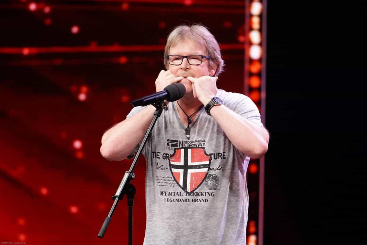 Jürgen Kern beim Supertalent am 14.9.2019