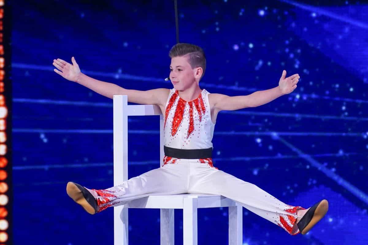 Jeffrey Trumpf beim Supertalent am 28.9.2019
