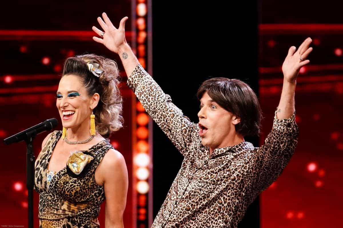 Jonathan Taylor und Anne Goldmann beim Supertalent am 14.9.2019