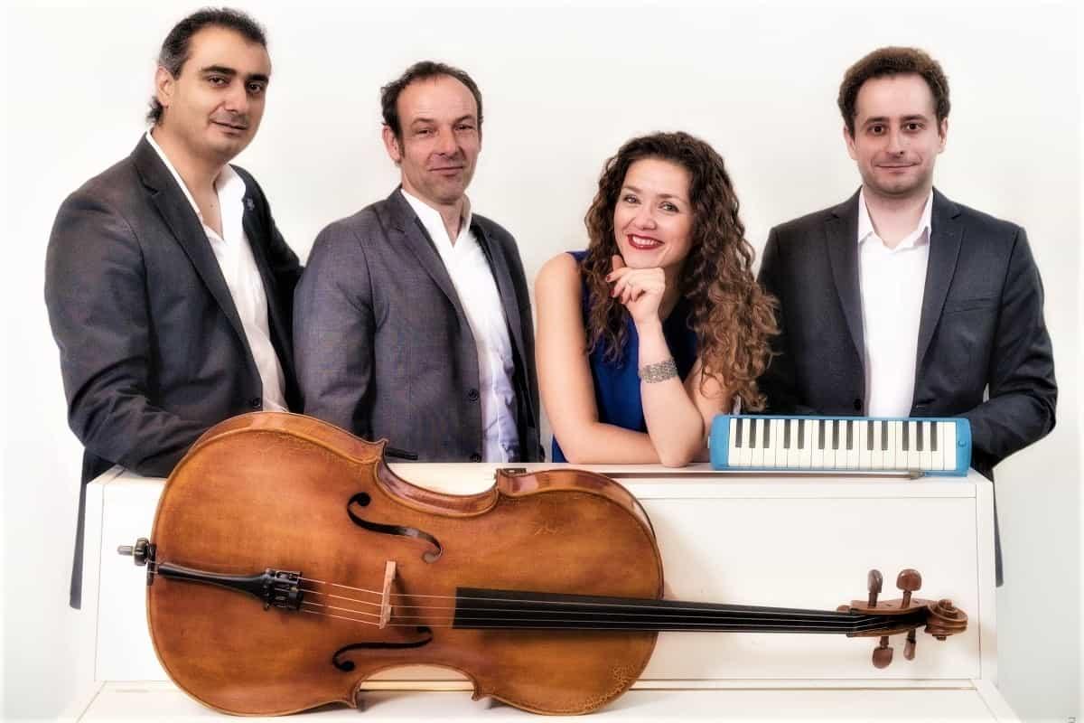 Kata y Co - Andranik Sargsyan, Henry Altmann, Katharina Mai und Martin Alexander Terens