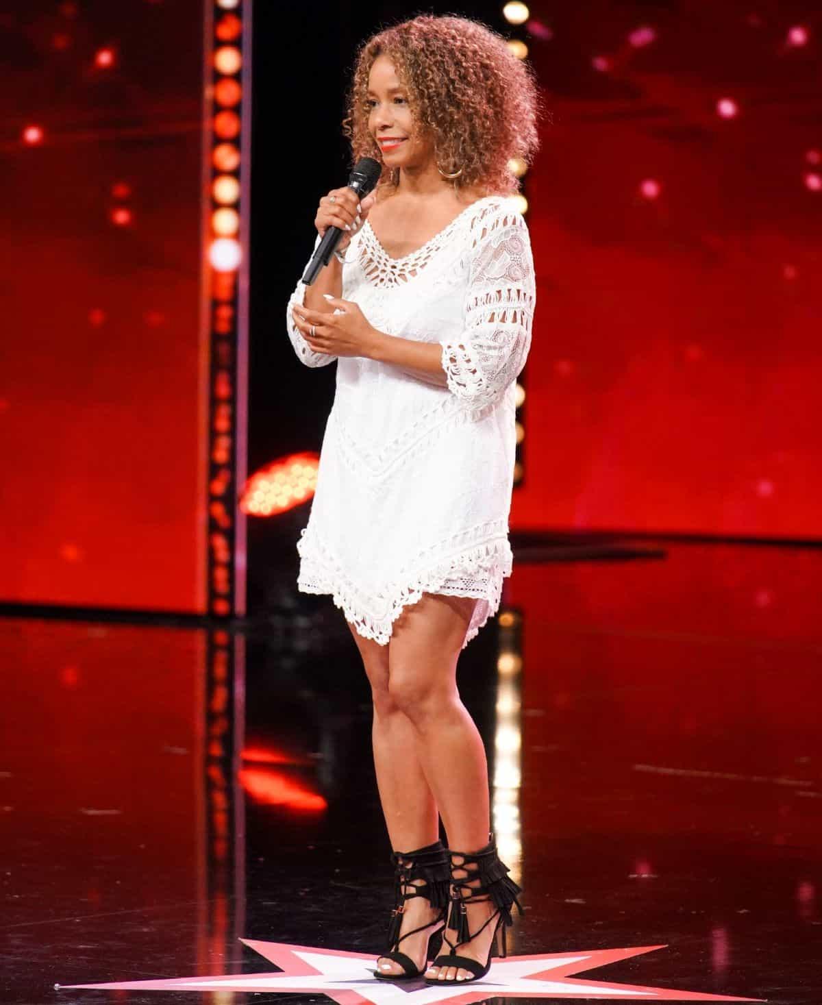 Katiuska McLean beim Supertalent am 28.9.2019