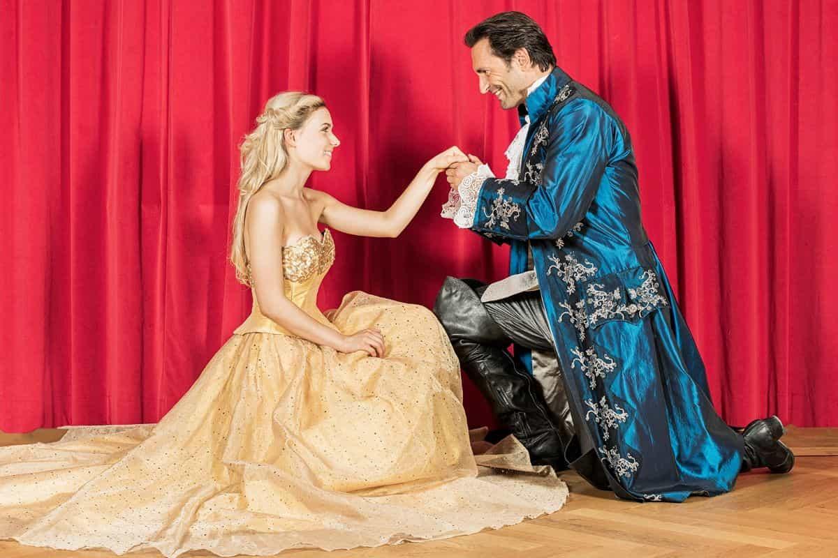 Musical Die Schöne und das Biest mit Marie Wegener und Alex die Capri Tour 2019-2020