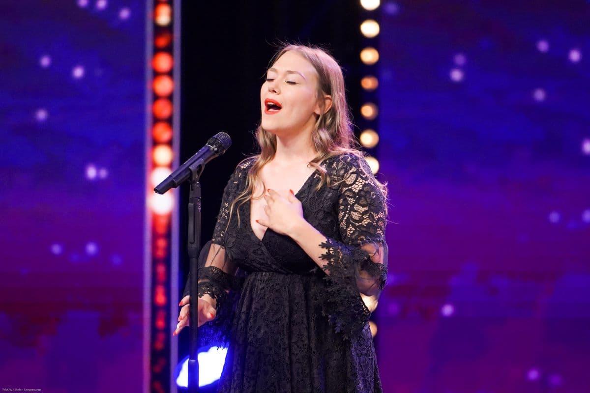 Nina Richel beim Supertalent am 21.9.2019