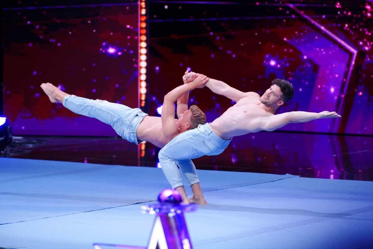 Rafael Koch und Niels Fluder beim Supertalent am 14.9.2019