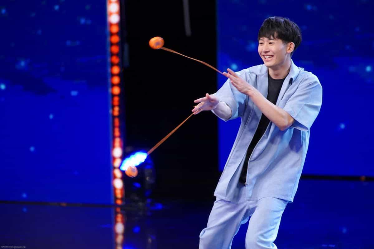Shu Takada beim Supertalent am 14.9.2019