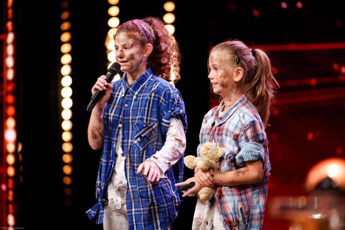 Simona Longo und Melina Ertunc beim Supertalent am 21.9.2019