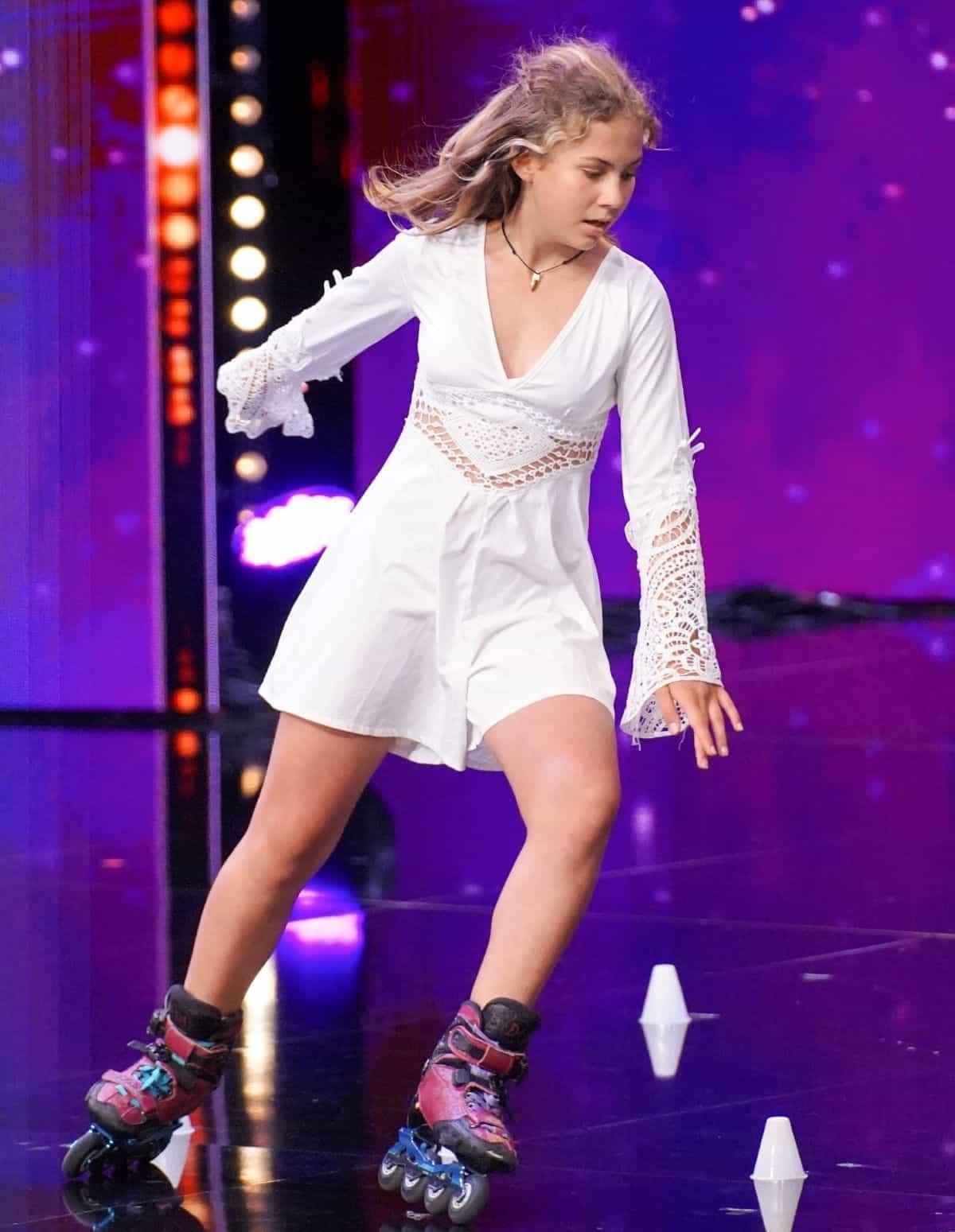 Zosia Baksy Brzezinska beim Supertalent am 28.9.2019