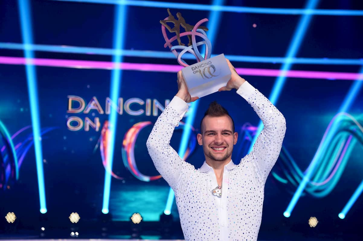 Eric Stehfest gewinnt Dancing on Ice 2019, Staffel 2