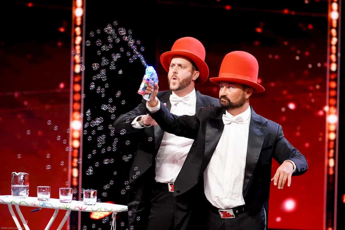Florian Gauder und Sven Cermak beim Supertalent am 12.10.2019