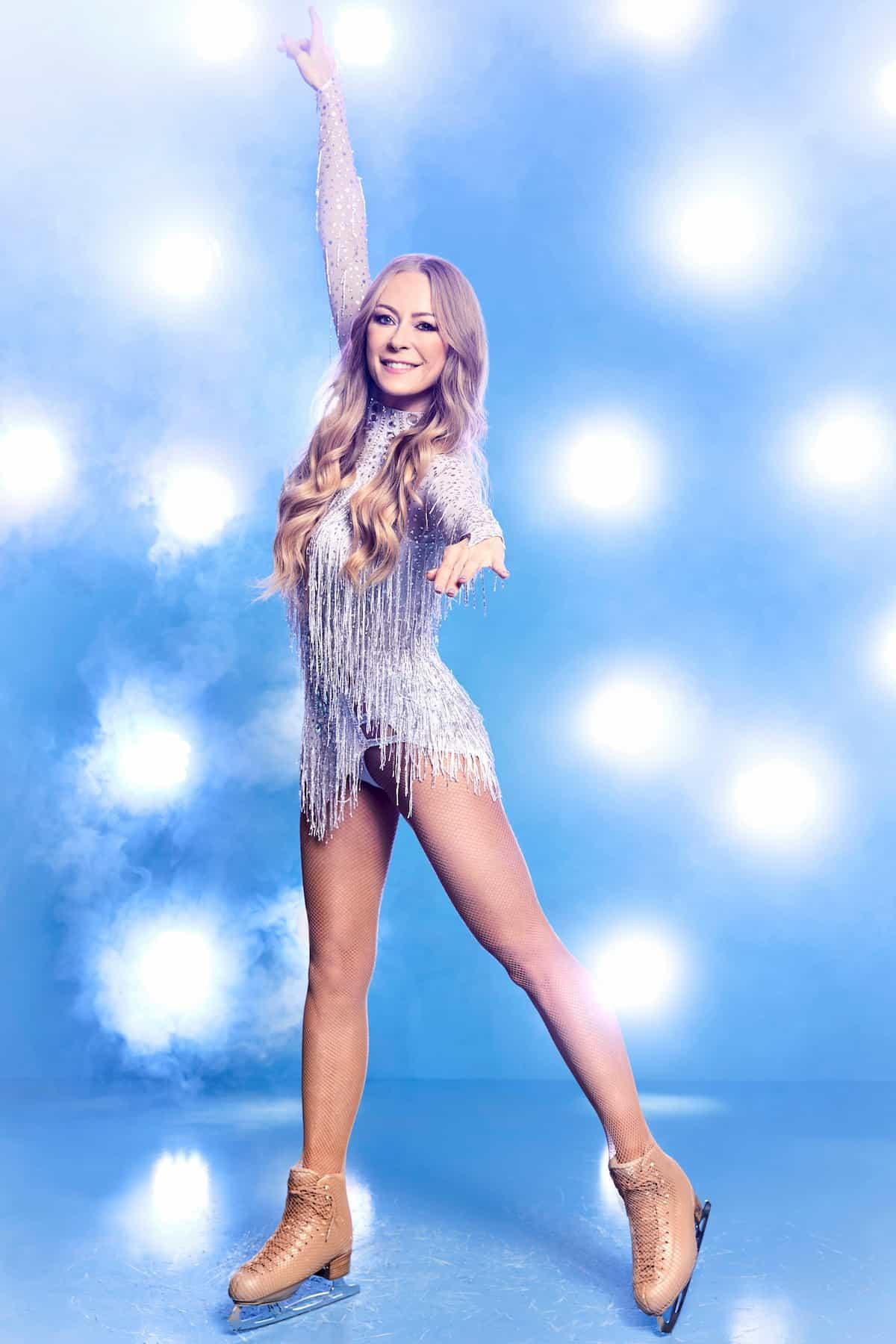 Jenny Elvers Promi-Kandidatin Dancing on Ice 2019 Herbst-Winter 2te Staffel