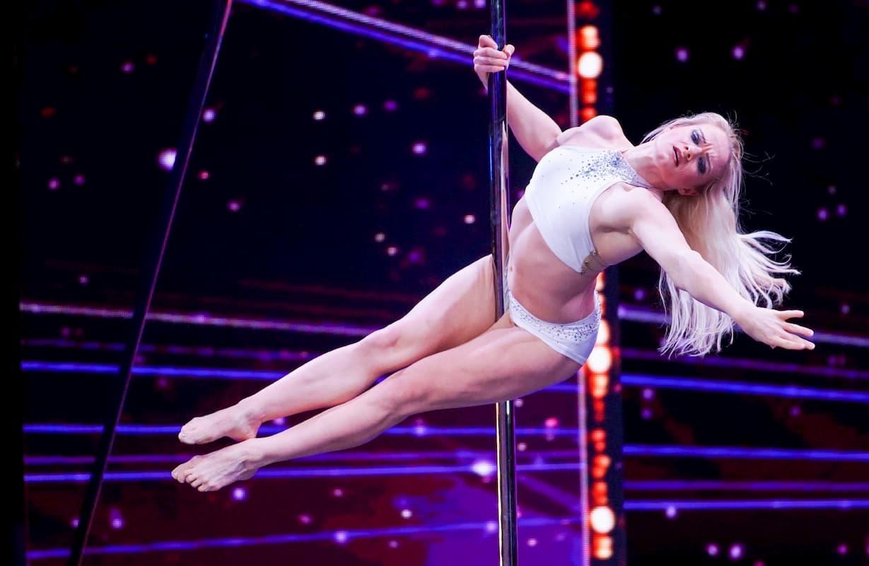 Lea Roth beim Supertalent am 19.10.2019